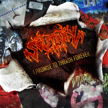 I PROMISE TO THRASH FOREVER FRONT COVER